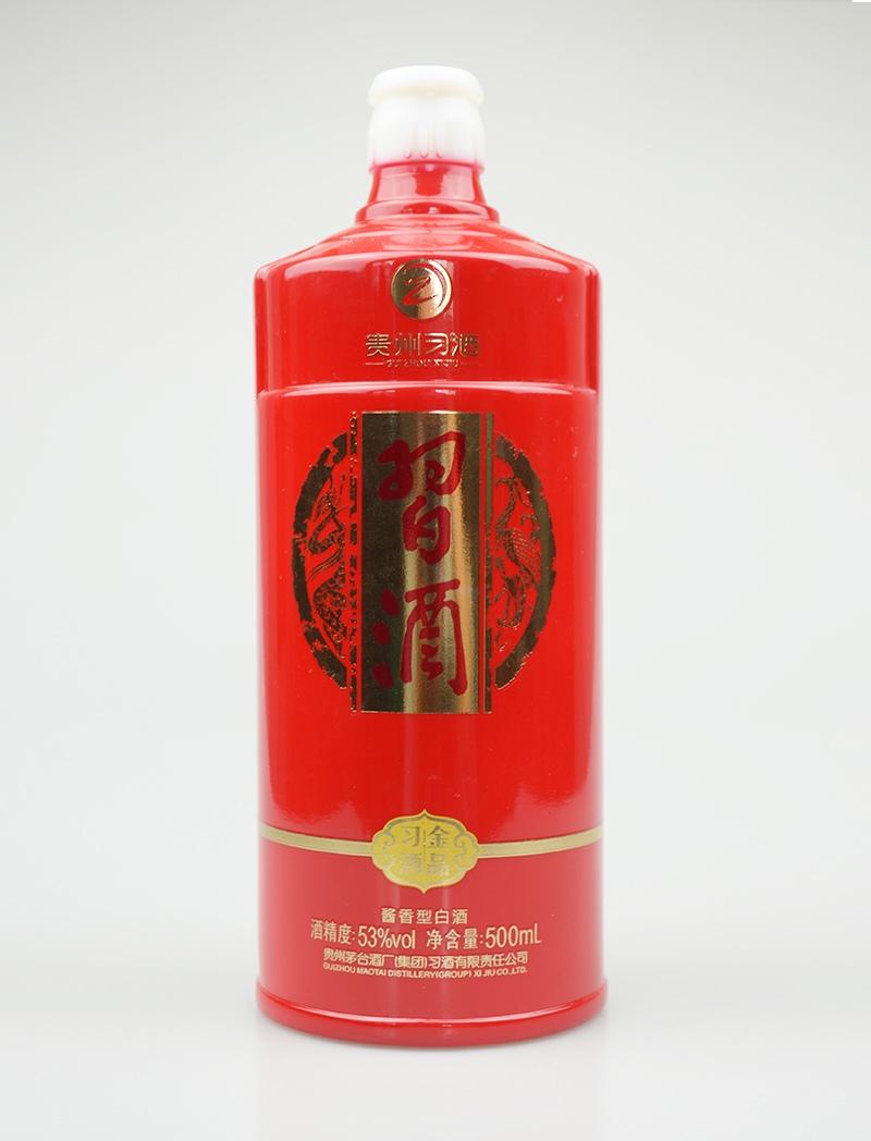 喷釉烤花玻璃酒瓶价格