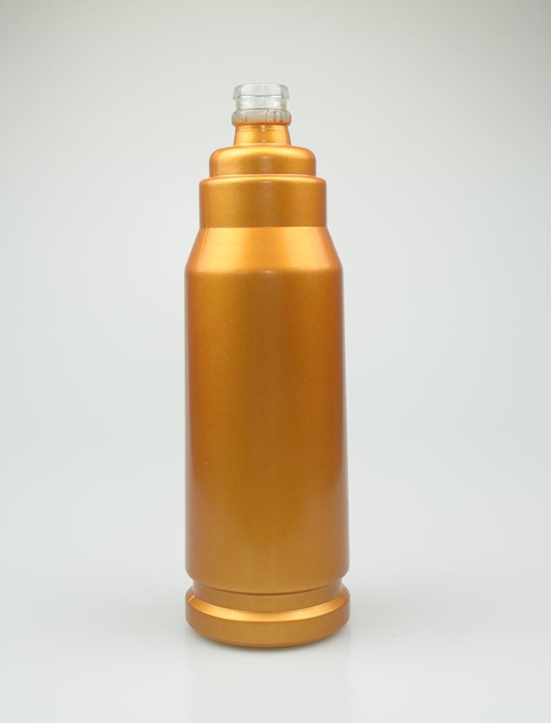 喷釉玻璃酒瓶销售商